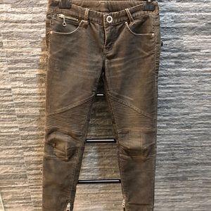 Armani Exchange Corduroy Motto Skinny Jeans